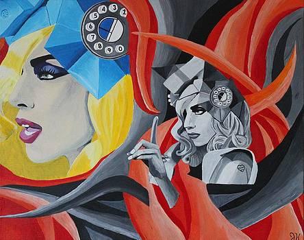 Lady Gaga by Jennifer Hayes