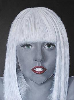 Lady Gaga 'Poker Face' by David Dunne