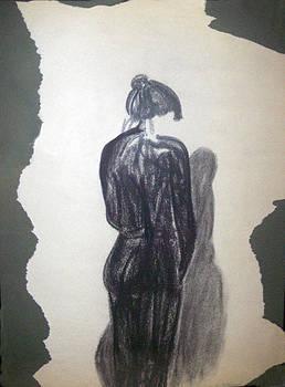 Lady In Black by Cynthia Hilliard