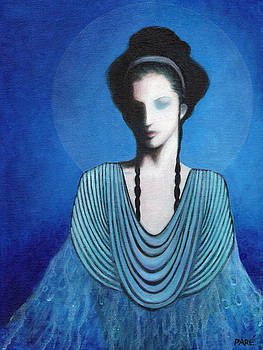 Lady in Blue by Mariam Pare