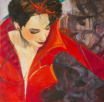 Lady in Red by Jennifer Croom