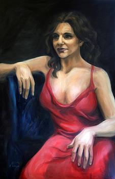 Lady in Red by Maryn Crawford