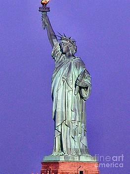 Lady Liberty- Statue of Liberty by Judy Palkimas
