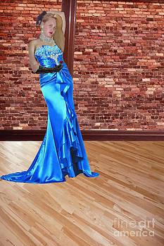 Lady M in Blue by ChelsyLotze International Studio
