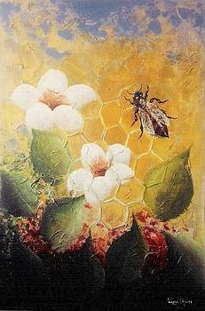Lady Of Hives by Wagner Chaves
