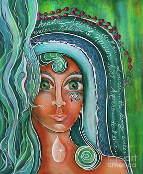 Lady Of Lourdes Madonna by Deborha Kerr