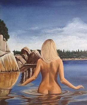 Lady Of The Lake by Caroline  Stuhr