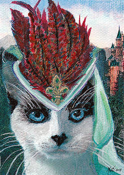 Lady Snowshoe by Michele Avanti