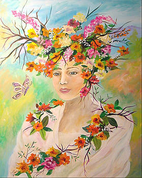 Lady Spring by Donna Laplaca