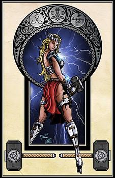 Lady Thor by Matt James