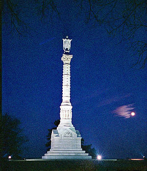 Lady Victory- The Yorktown Victory Monument in Virginia by Thomas D McManus