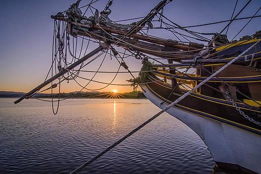 Lady Washington at Sunrise by Chris Malone