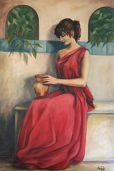 Lady with Urn by Maryn Crawford