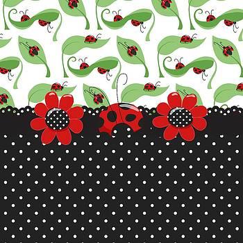 Debra  Miller - Ladybug Flower Power