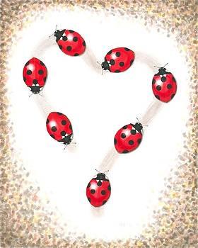 Ladybug Heart by Anna Bronwyn Foley