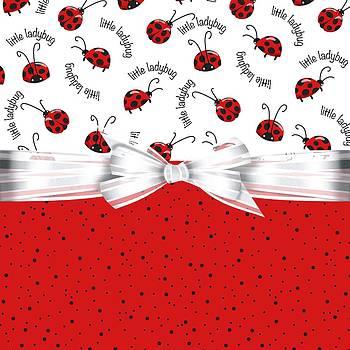 Debra  Miller - Ladybug Red And White
