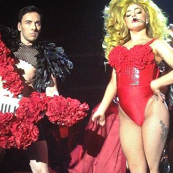 #ladygaga #roselandballroom April 4 by Mark Diefenderfer