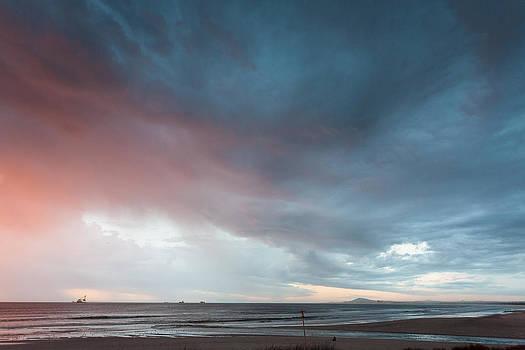 Lagoon mouth sunset by Paul Indigo