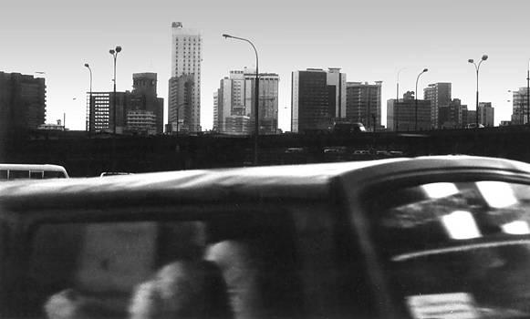 Muyiwa OSIFUYE - Lagos Skyline at Dusk