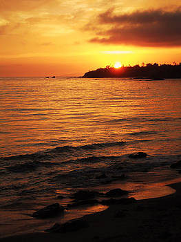 Laguna Sunset by Tom Hard