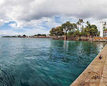 Jo Ann Snover - Lahaina Lighthouse and Front Street