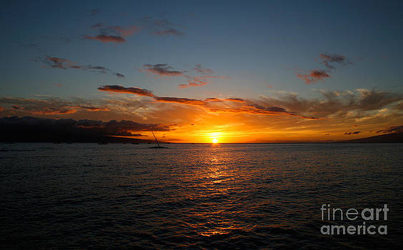 Lahaina Sunset by David Lee