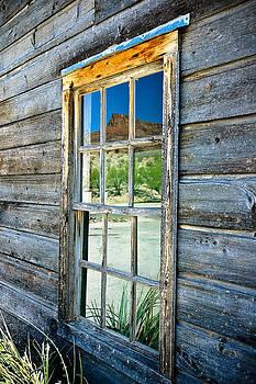Lajitas Mesa Reflection by Micah McKinnon