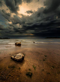 Lake and Clouds by Garett Gabriel