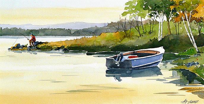 Lake Break by Art Scholz