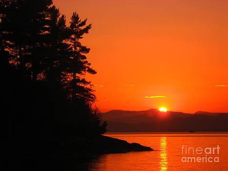 Christine Stack - Lake Champlain Sunset