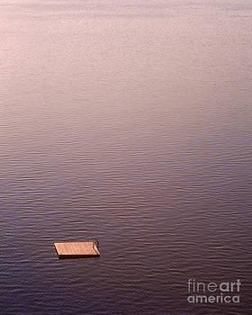 Lake Chelan Raft by Tracy Knauer