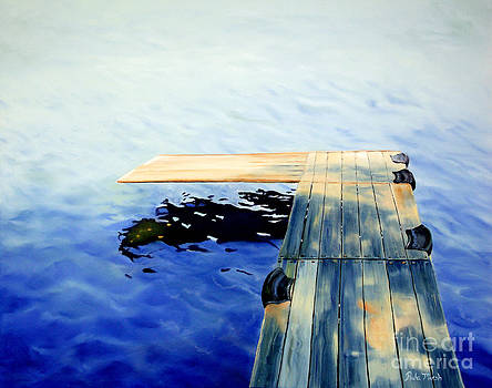 Lake Dock by Paula Marsh