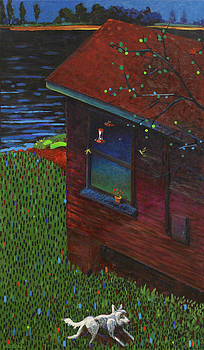 Lake Dog by Anguspaul Reynolds