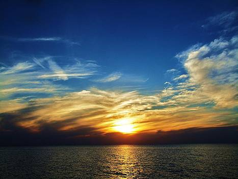Lake Erie Sunset 2 by Mark Malitz