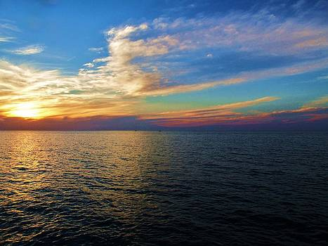 Lake Erie Sunset by Mark Malitz
