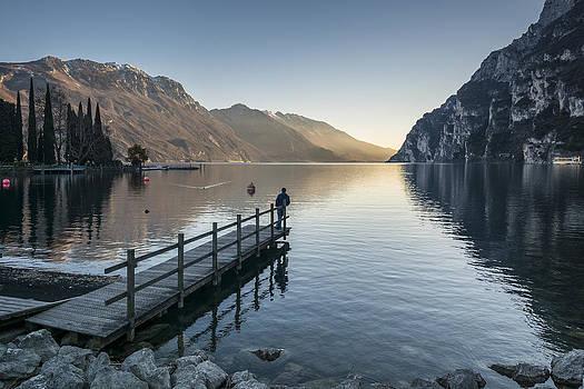 Lake Garda in Italy by Ayhan Altun