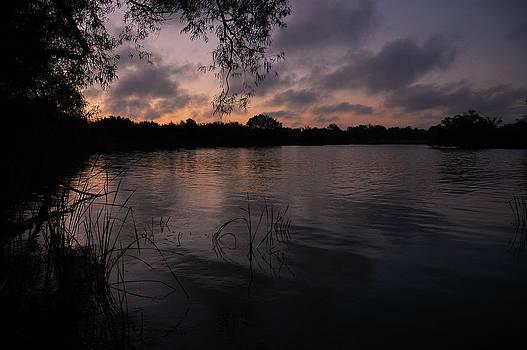 Lake Hefner Dawn by Micah McKinnon