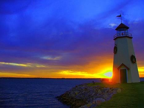 Lake Hefner Sunset by Stacie Adams