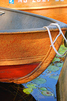 Lake Hopatcong Boat by Lucia Vicari
