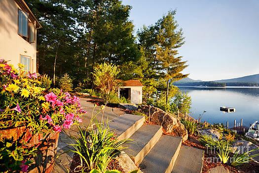 Jo Ann Snover - Lake house sunrise