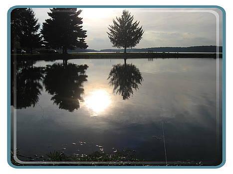 Lake In July by Lele Pennington