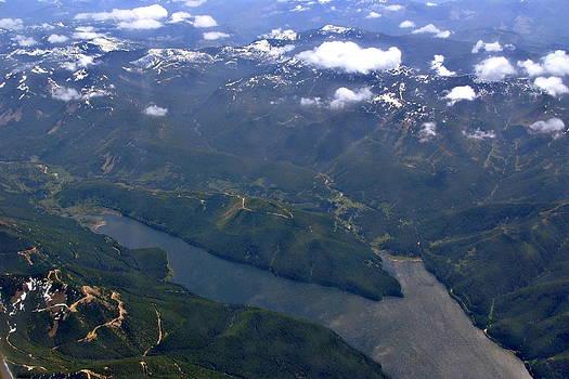 Devinder Sangha - Lake in Mountains