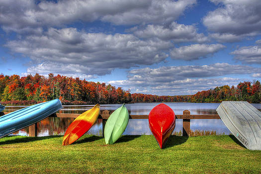 Lake Jean Boat Launch by David Simons