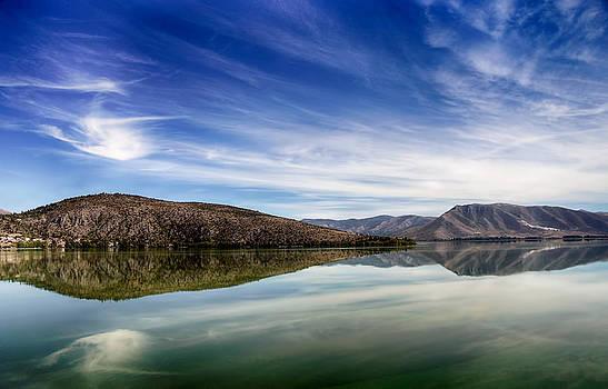 Lake Kastoria Greece by Alastair Graham