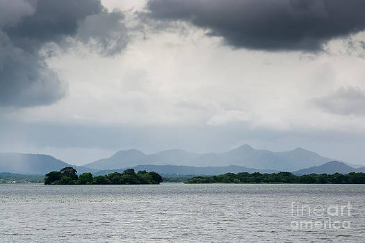 Lake landscape by Christina Rahm