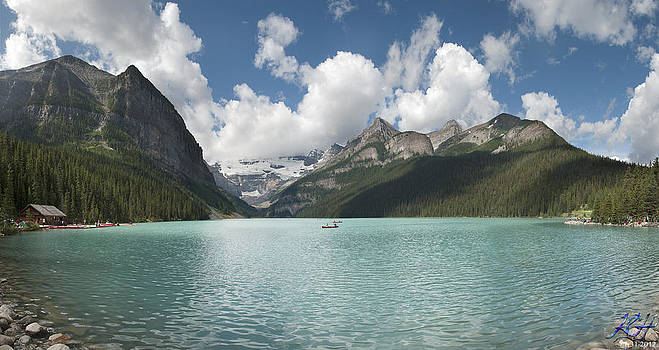Lake Louise by Kenneth Hadlock