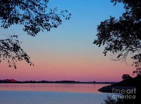 Lake Lugert Sunrise by Pattie Calfy