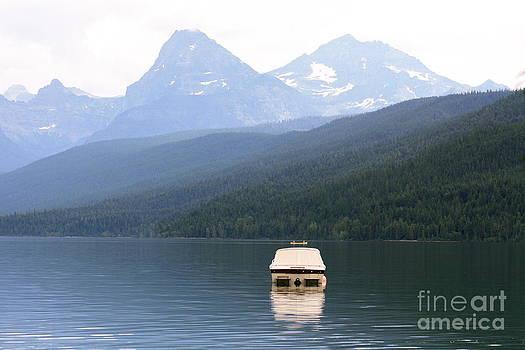 Danielle Groenen - Lake McDonald Boat