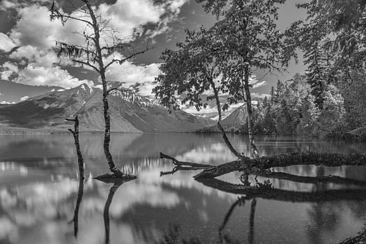 Lake McDonald by Johan Elzenga