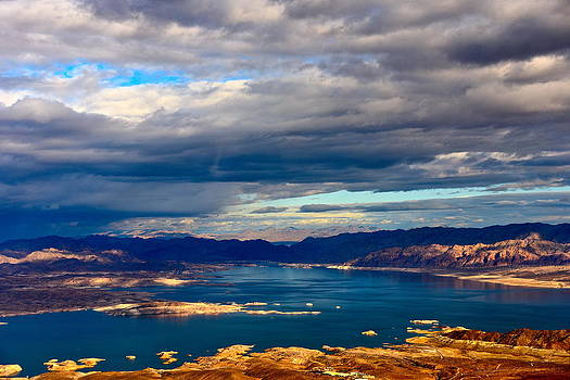 Lake Mead Thunderstorm by Amanda Miles